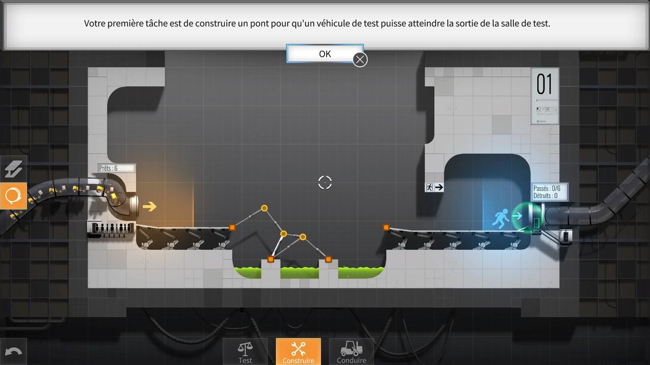 test de Bridge Constructor Compilation