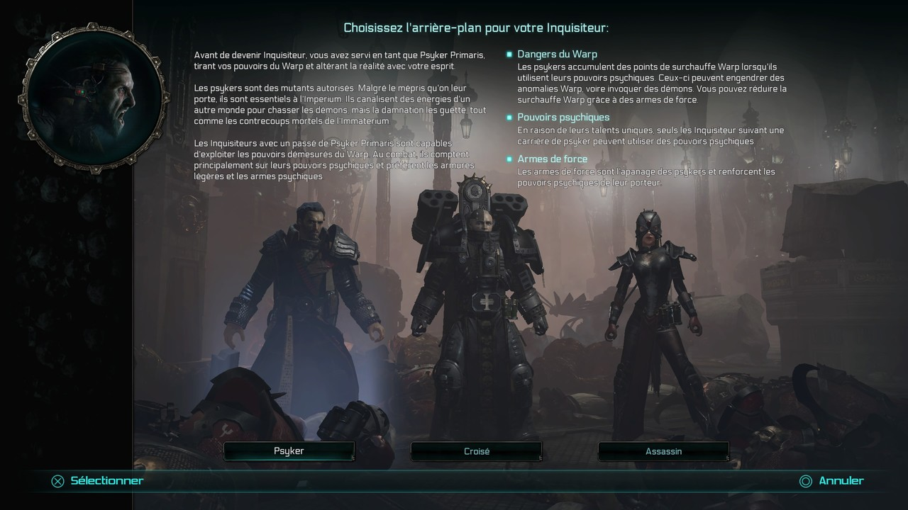 test de Warhammer 40.000 : Inquisitor - Martyr